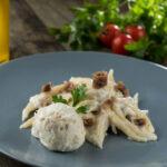 Savršeni okusi bakalar pripremljeni s tjesteninom